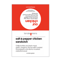 Salt & Pepper Chix Sand
