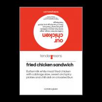 Fried Chix Sandwich