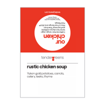 Rustic chicken soup