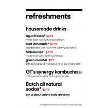 Burbank Pvc Refreshments