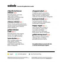 Burbank Pvc Salads