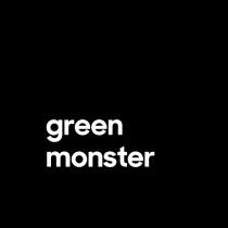 "Green Monster 4"" x 4"""